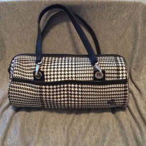 Lauren Ralph Lauren Black/White Checkered Purse 👝